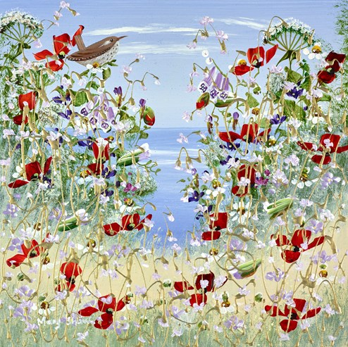 Summer Sea Breeze by Mary Shaw - Original Painting on Board
